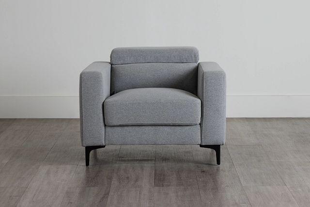 Trenton Light Gray Fabric Chair (0)
