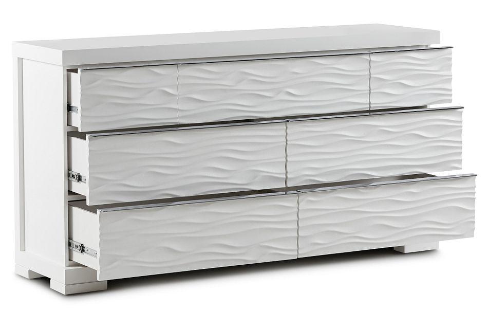 Ocean Drive White Dresser