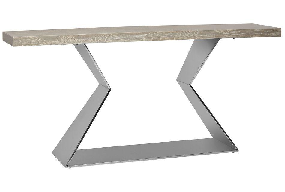 Zephyr Light Tone Sofa Table