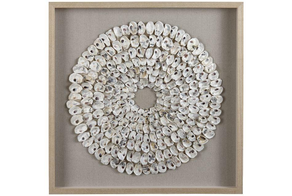 Sierra White Framed Wall Art,  (0)
