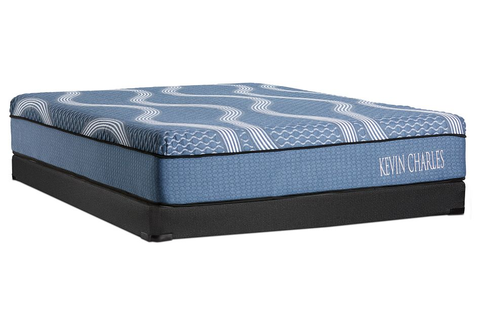 Kevin Charles Miramar Hybrid   Low-Profile Mattress Set
