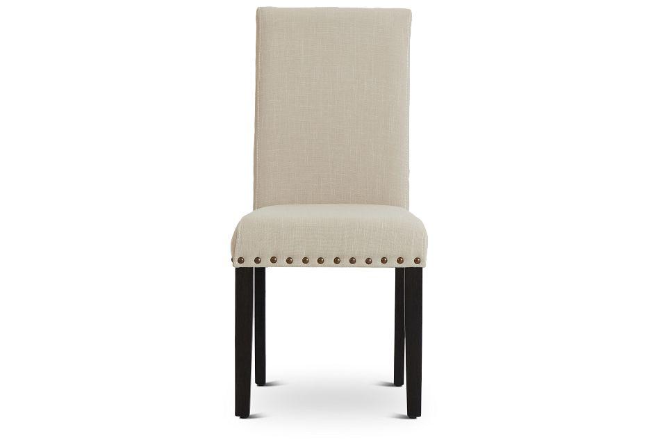 Portia Dark Tone Upholstered Side Chair,  (3)