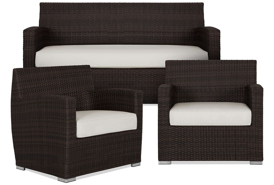 Grate WHITE  Outdoor Living Room Set