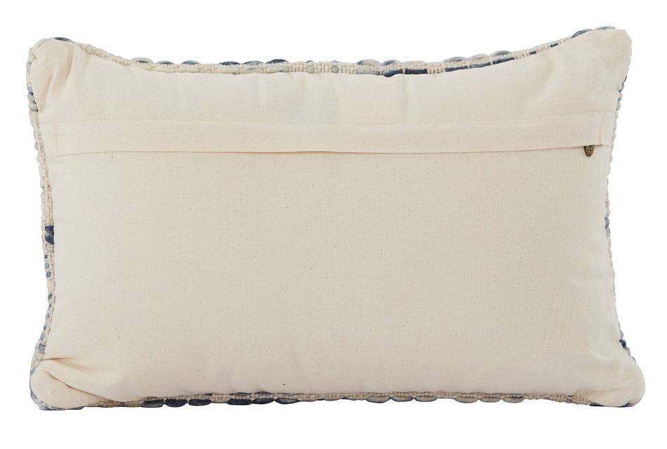 "Lydia Blue 21"" Accent Pillow"
