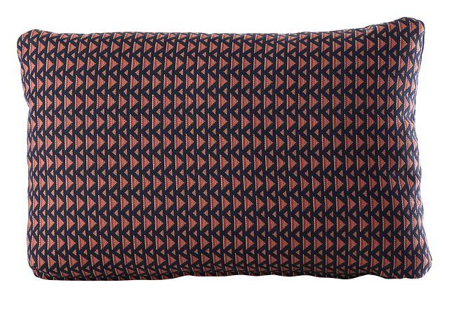 Allegretto Dark Blue Lumbar Indoor/outdoor Accent Pillow