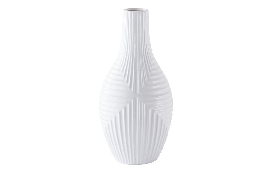Capes White Medium Vase