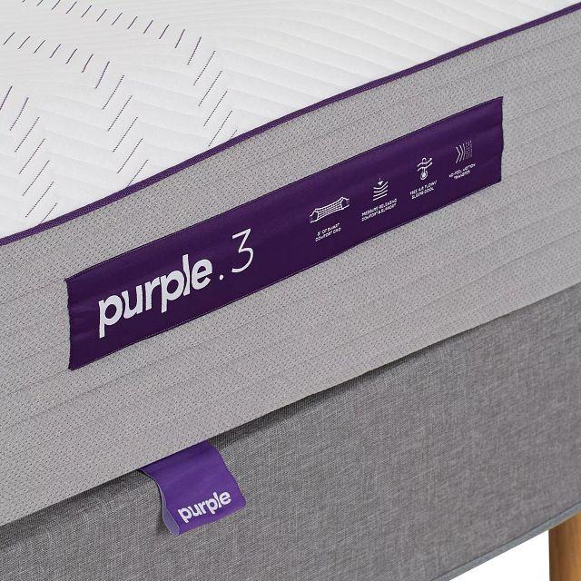 Purple Premier 3 Hybrid Mattress Set (2)