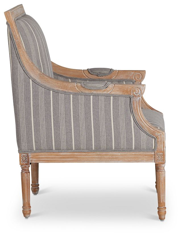 Mckenna Multicolored Fabric Accent Chair (2)
