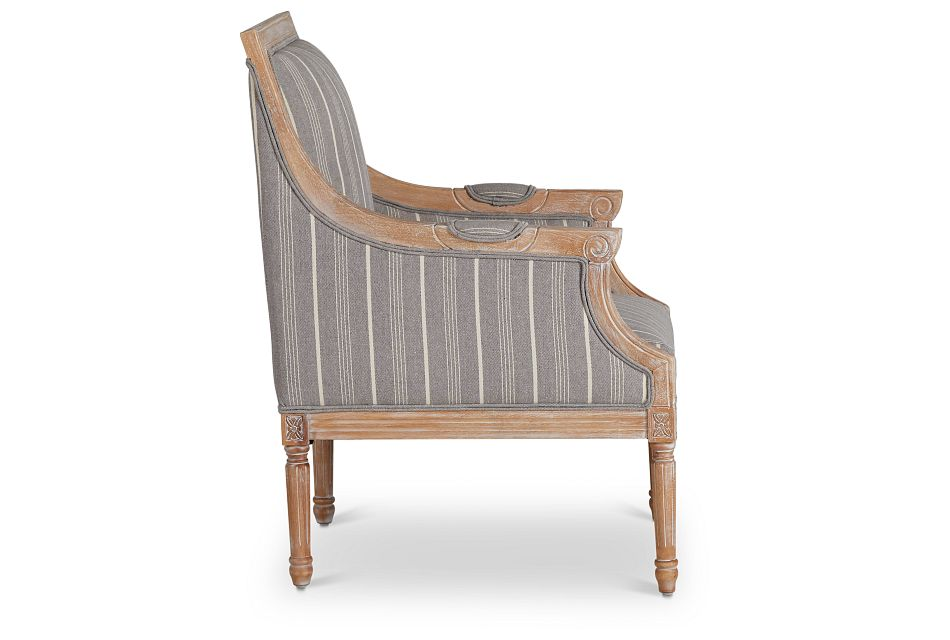 Mckenna Multicolored Fabric Accent Chair