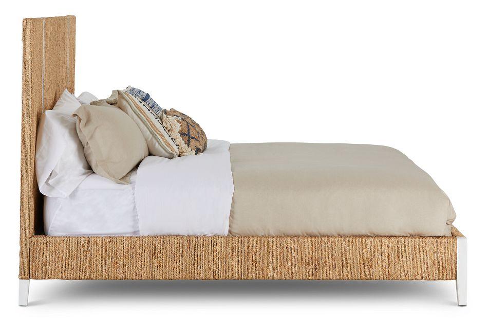 Nantucket Light Tone Woven Platform Bed