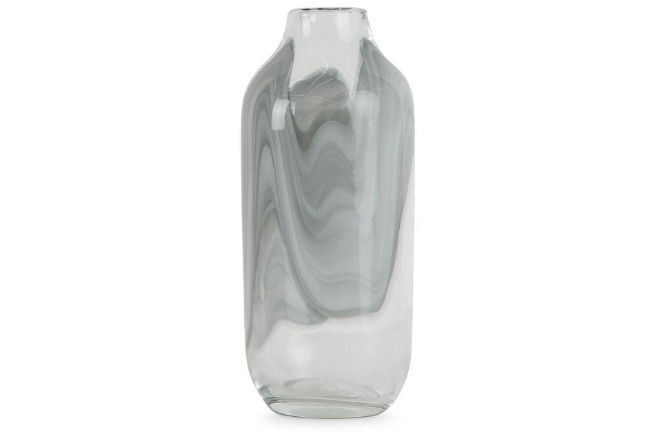 Arya Gray Tall Vase
