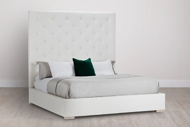 Berlin White Uph Platform Bed (0)