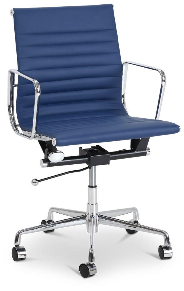 Mateo Dark Blue Desk Chair (1)