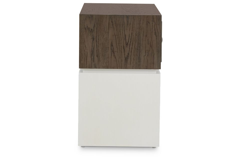 Goodman Light Tone Wood Nightstand
