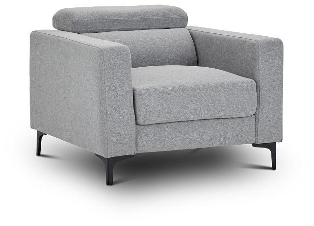 Trenton Light Gray Fabric Chair (1)