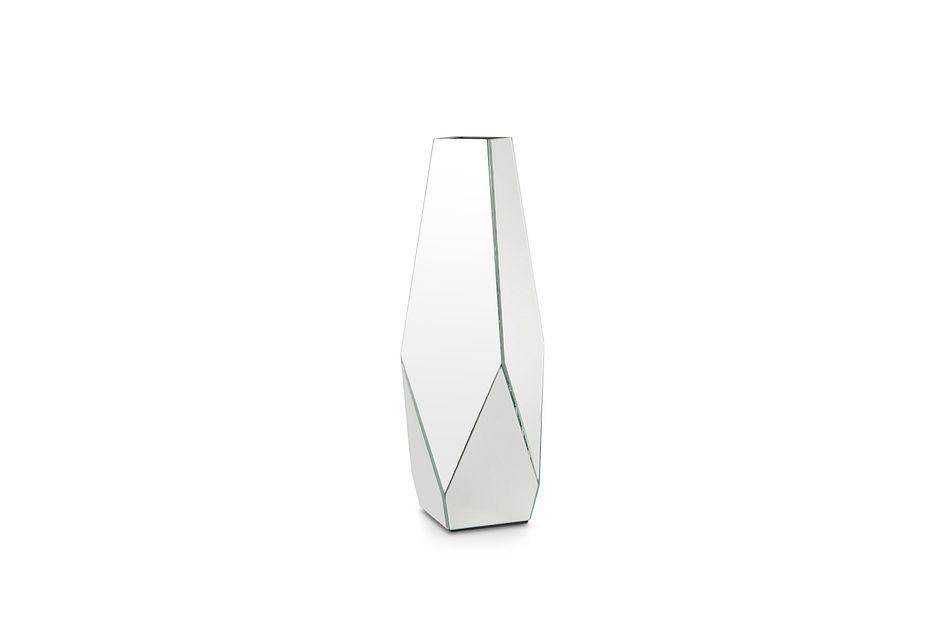 Brynna Mirrored Small Vase
