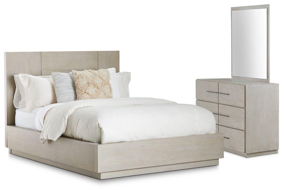 Destination Light Tone Platform Bedroom