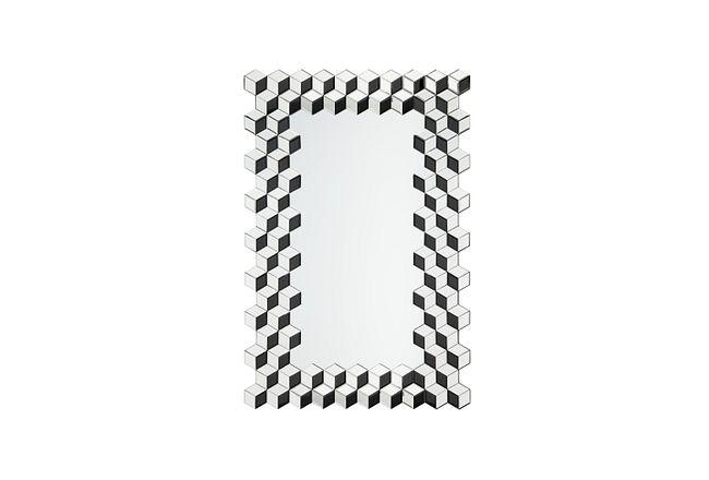 Elysie Silver Mirror
