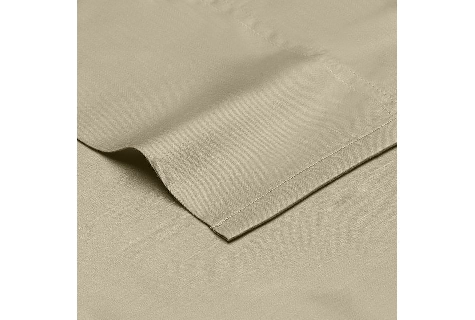 Tencel Beige 300 Thread Sheet Set
