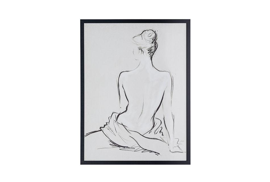 Layla Black Framed Wall Art