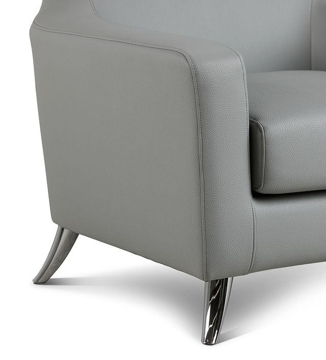 Zane Dark Gray Micro Accent Chair