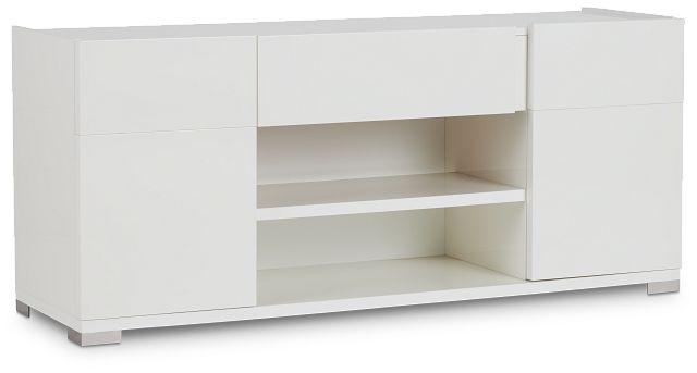 """Santino 65"""" White Tv Stand (3)"""