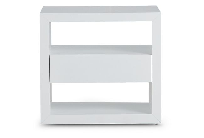 Nantucket White Open Nightstand