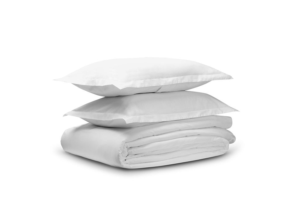 Organic Cotton White 300 Thread Duvet Set
