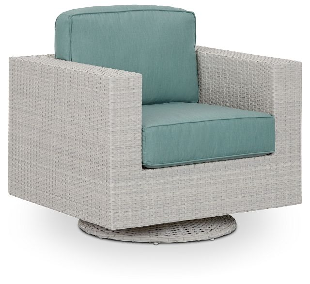 Biscayne Teal Swivel Chair (0)