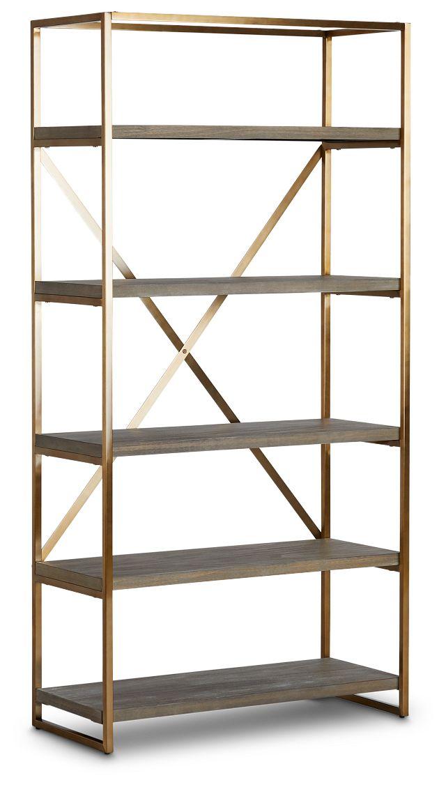 Dexter Brown Bookcase (2)