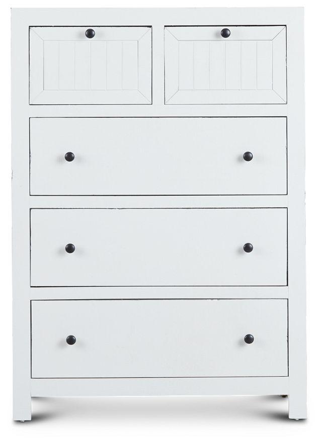 Elmhurst White Drawer Chest (1)