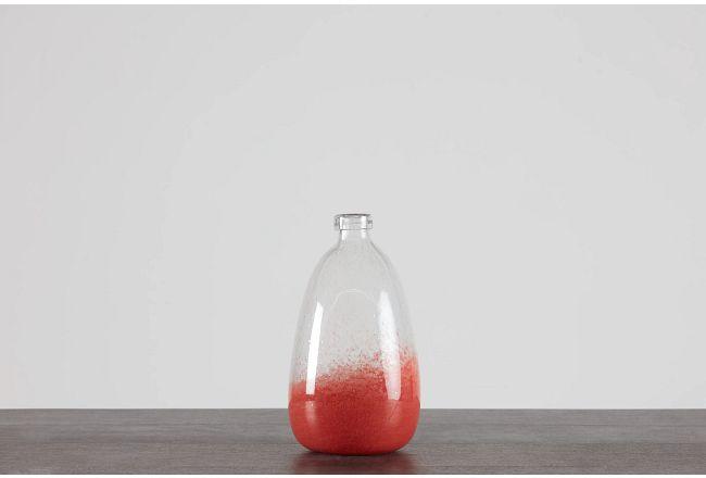 Renee Orange Small Vase