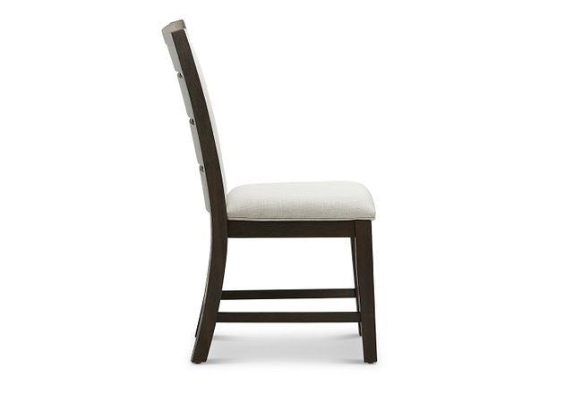 Grady Dark Tone Slat Side Chair