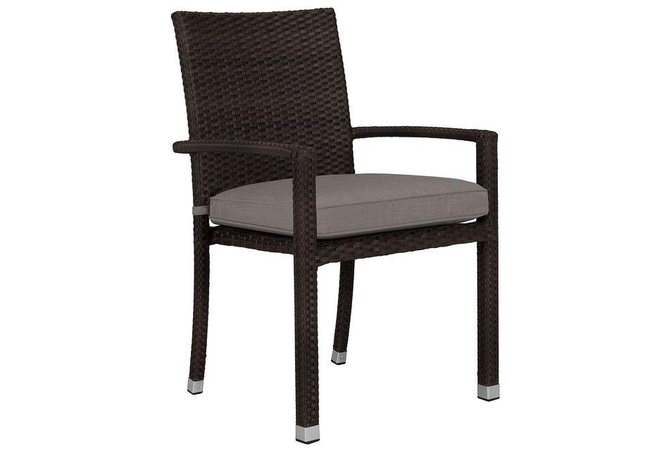 Zen Gray  Arm Chair