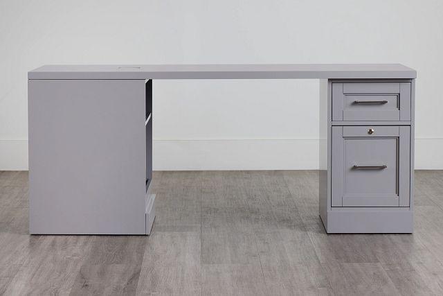 Newport Gray Peninsula Desk (0)