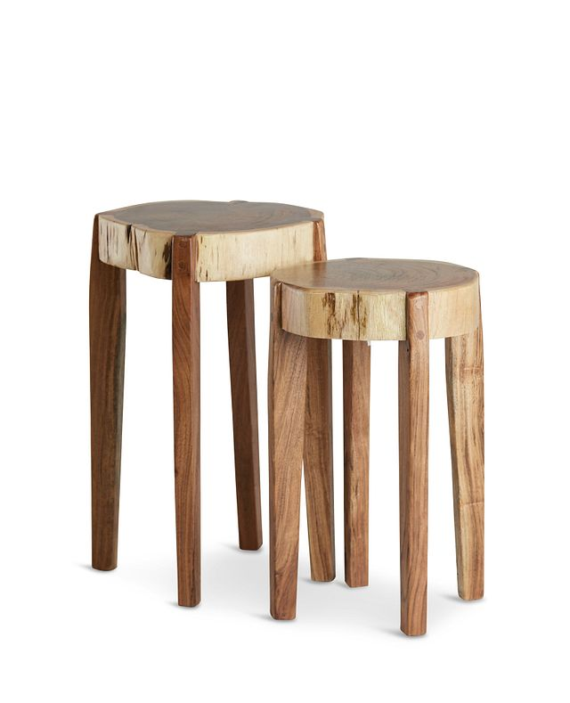 Nyle Set Of 2 Wood Accent Table (1)