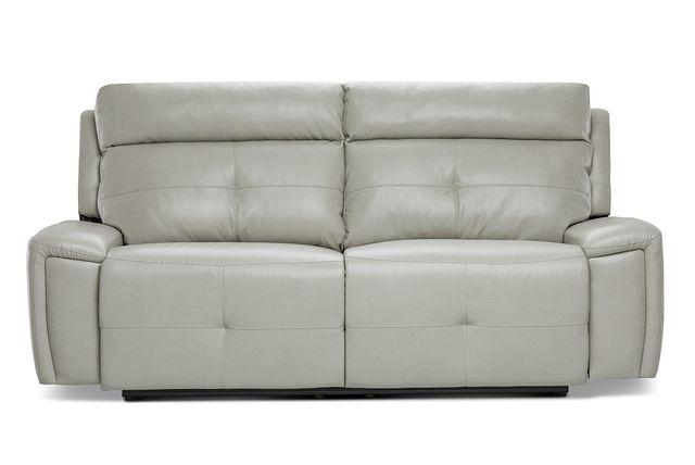 Chandler Light Gray Micro Power Reclining Sofa (0)