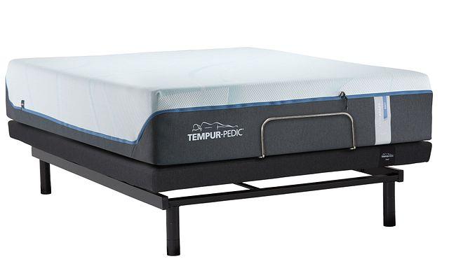 Tempur-luxe Adapt Plush Ergo Adjustable Mattress Set (1)