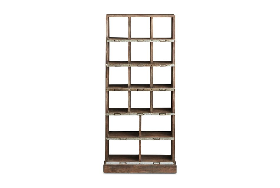 Boxie Light Tone Cabinet