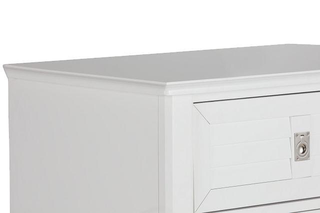 Marina White Door Chest (0)