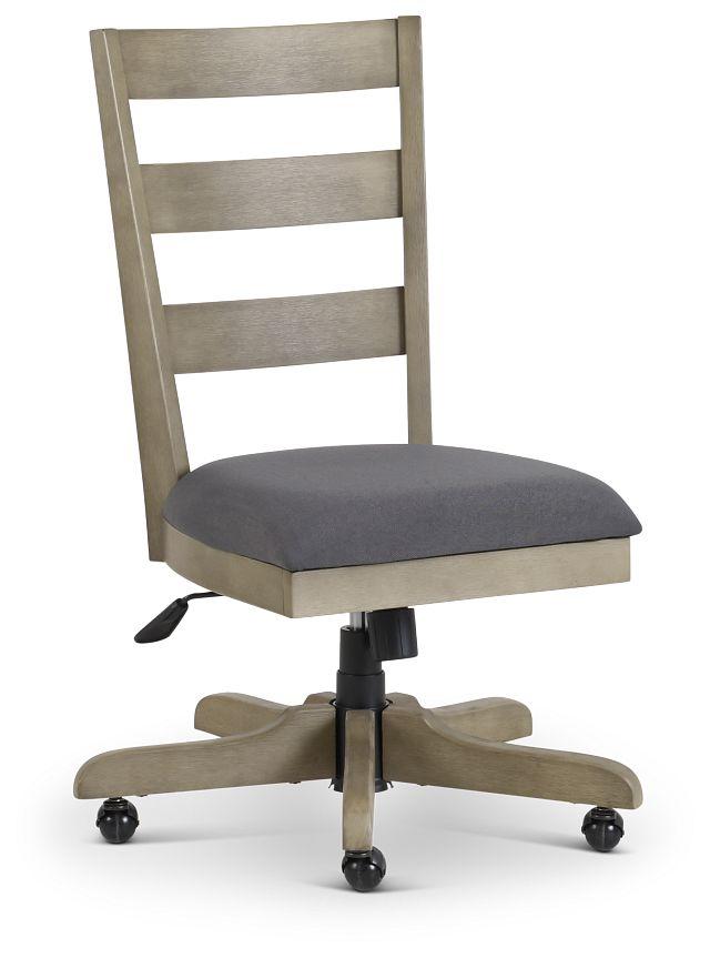 Vista Light Tone Wood Desk Chair (1)