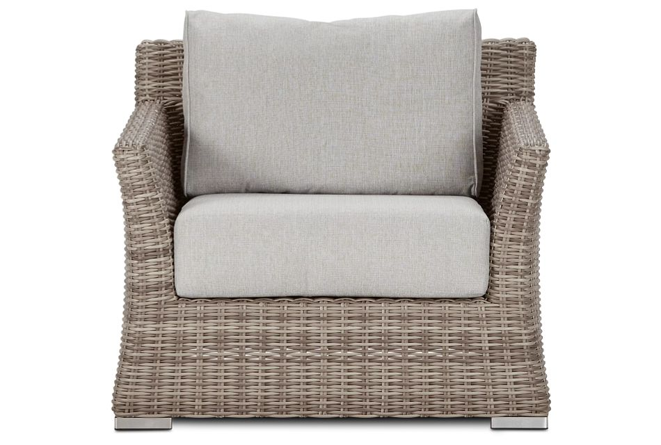 Raleigh Gray Woven Chair