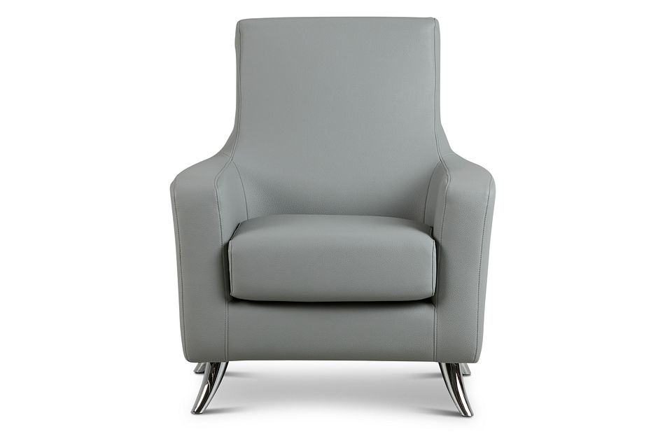 Zane Dark Gray Micro Accent Chair