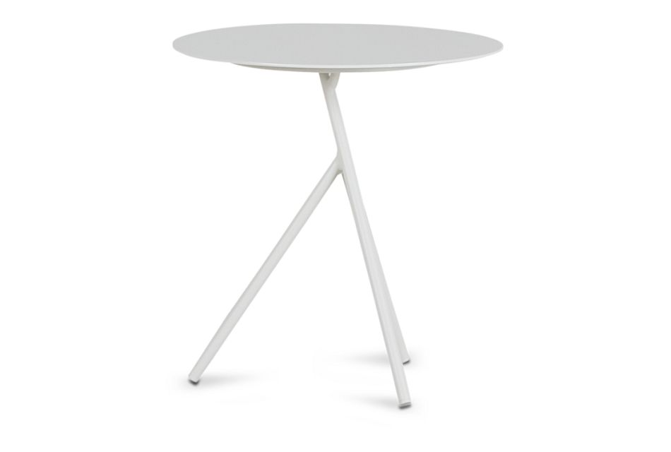 Ibiza White Low Accent Table,  (1)