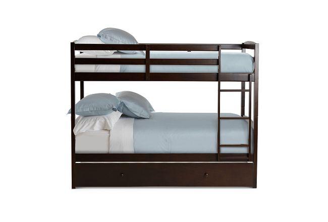 Marley Dark Tone Trundle Bunk Bed