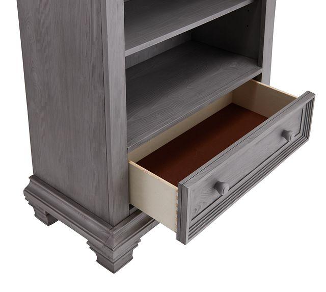 Westport Light Gray Bookcase (2)