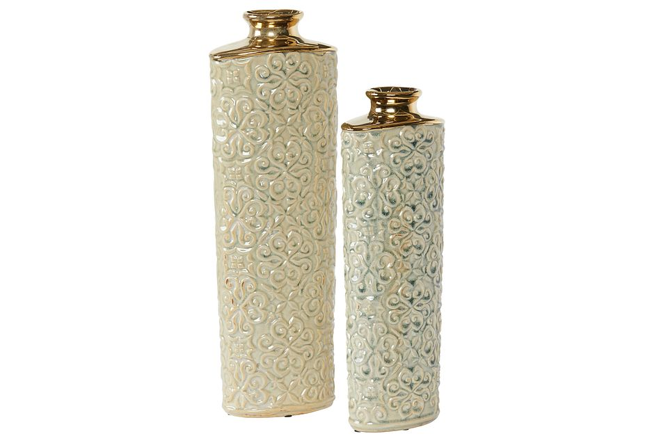 Rowan Gold Large Vase