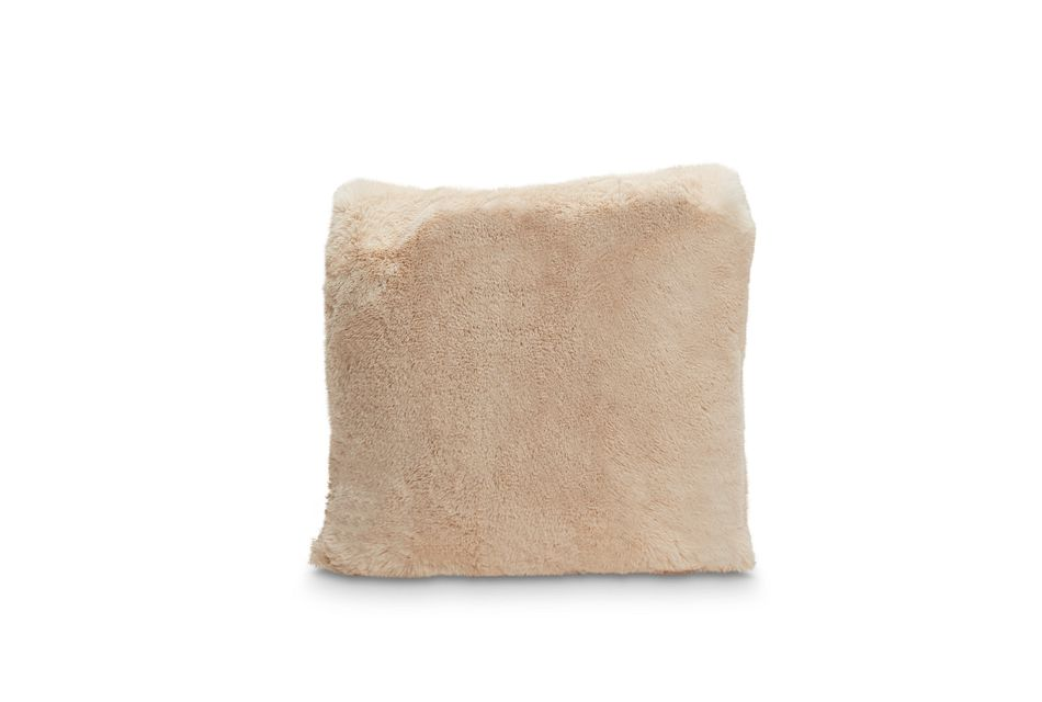"""Kaycee Champagne 18"""" Accent Pillow"""
