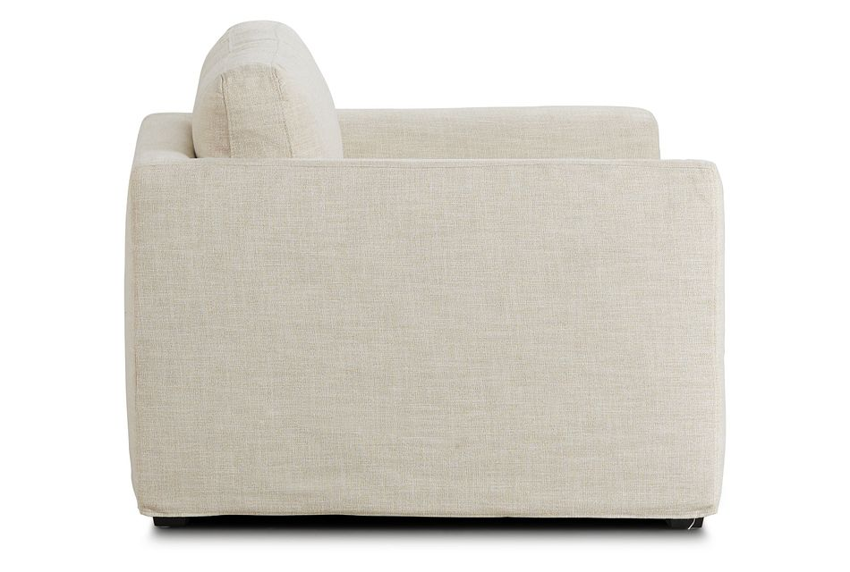 Willow Light Beige Fabric Chair