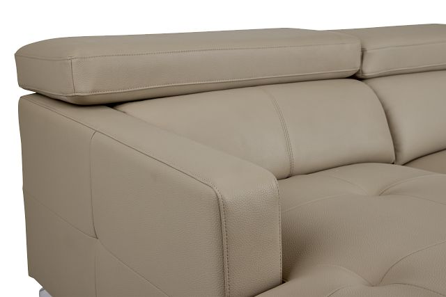Marquez Taupe Micro Left Chaise Sectional